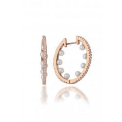 Monemel Swarovski Element Soft Pink Earring