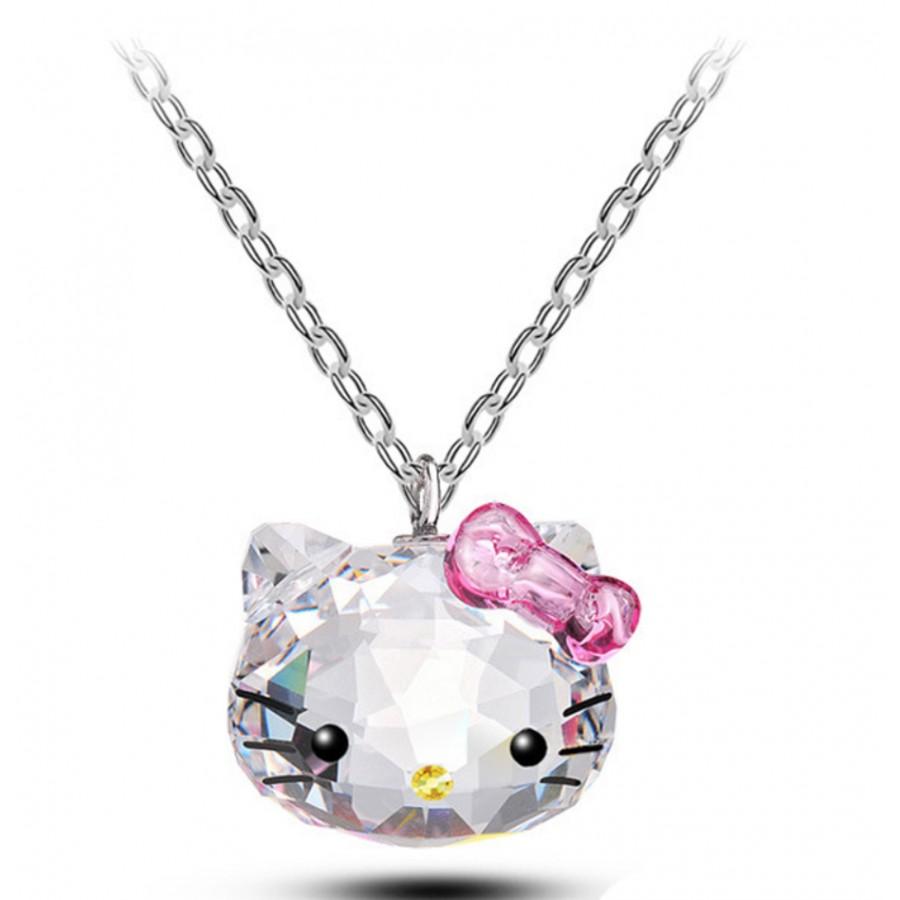 Monemel Swarovski Hello Kitty Kolye - Tüm Ürünler - Monemel