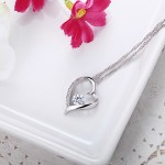 Monemel Swarovski Heart Shape Necklace - Mother s Day - Monemel