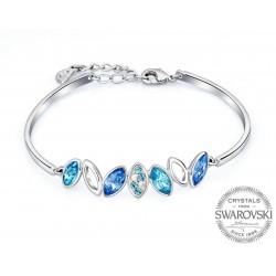 Monemel Mavi Swarovski® Taşlı Bileklik